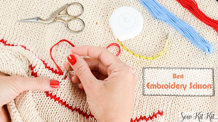 Best embroidery scissors