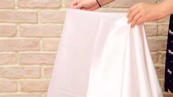Center Satin Fabric