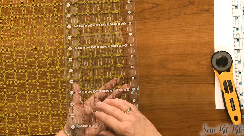How to Use Quilting Rulers 1
