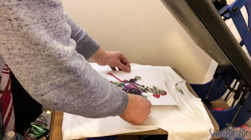How to Use Sublimation Paper 6
