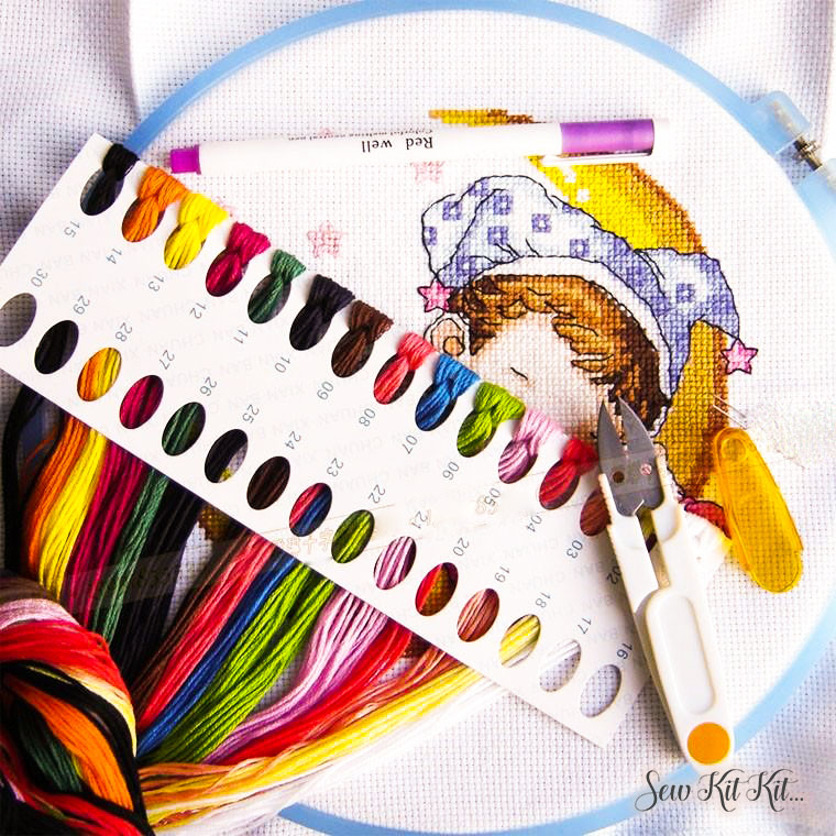 How to store embroidery floss 12